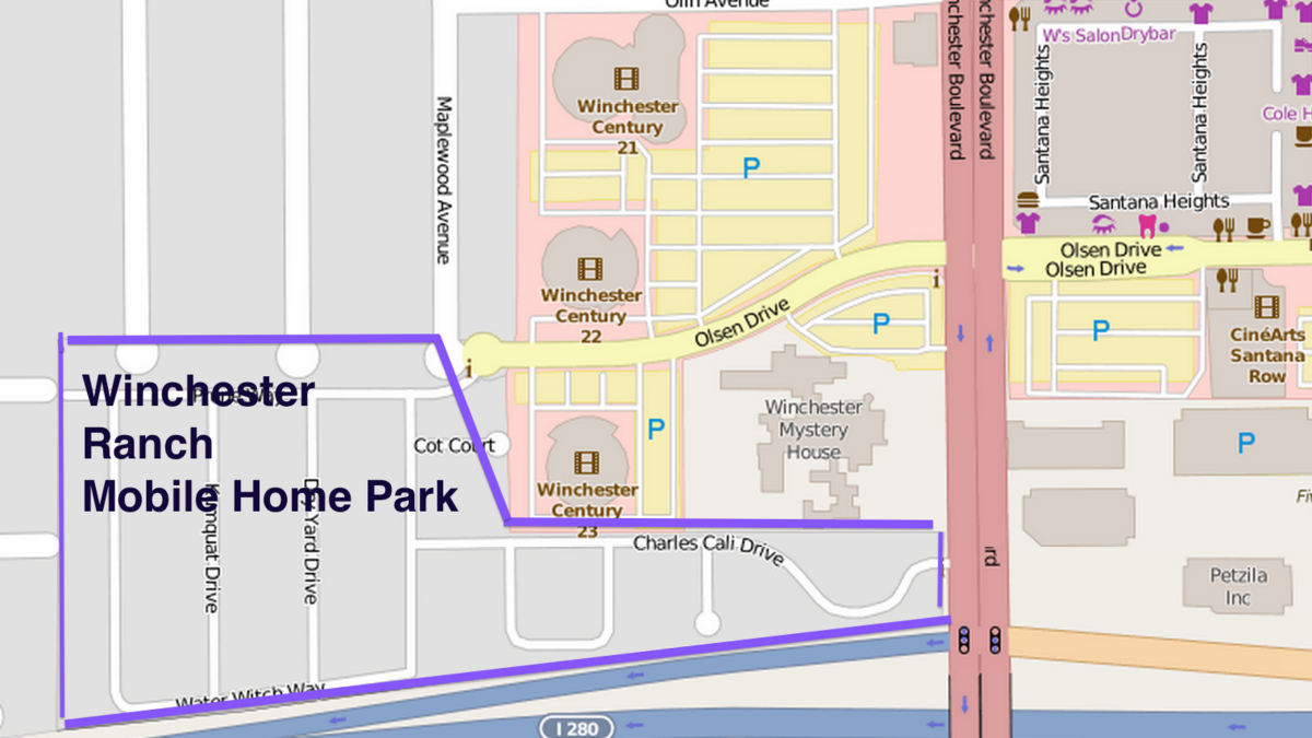 Pulte To Redevelop San Joses Winchester Ranch Mobile Home Park Near Santana Row Westfield Valley Fair