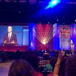 Clinton, Bush and other presidential candidates address the National Urban League Conference in Fort Lauderdale
