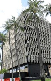 The IBM Building in Honolulu opened in 1962 and cost about $1.5 million to build.