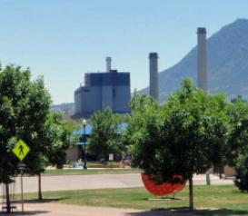 The Martin Drake Power Plant in Colorado Springs