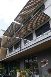 The 40 S. School St. building's renovation earned it LEED certification for its green building features.