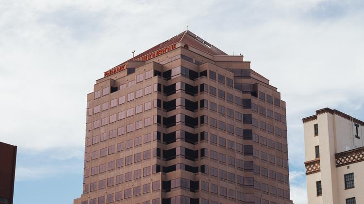Bank Of Albuquerque North I 25 Offered Better Corporate Exposure