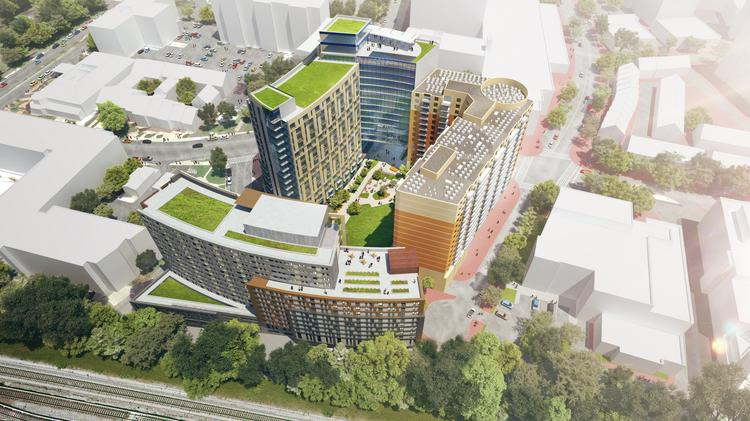 Lee Development Group, Housing Opportunities Commission to redevelop Silver Spring site - Washington Business Journal