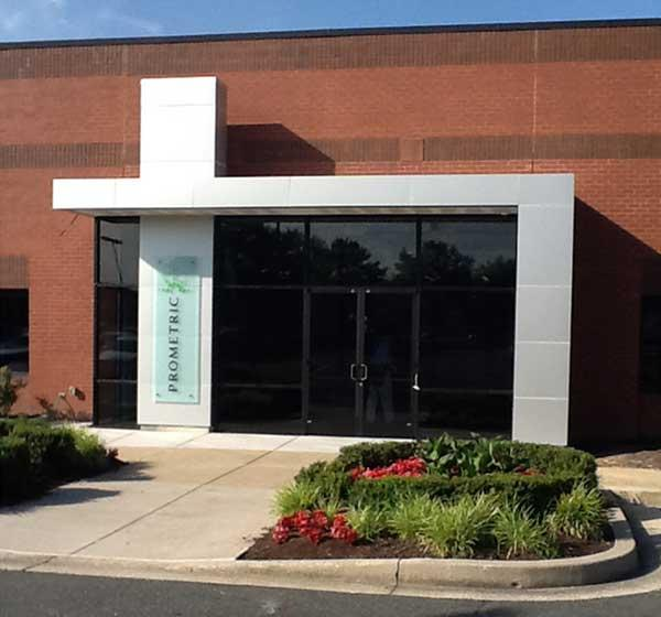 Prometric Inc. has opened its $12 million facility in Baltimore County.