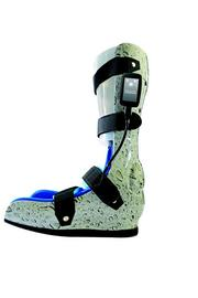 A foot brace with the PressureGuardian sensor attached.