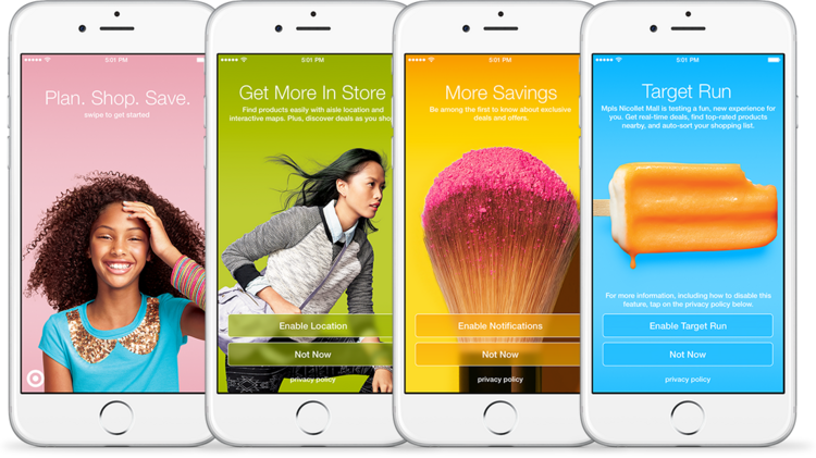 Target released a new app feature that tracks shoppers in its stores to offer them relevant discounts and deals