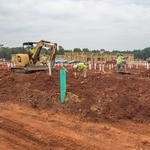 Waverly construction starts in south Charlotte, tenants added
