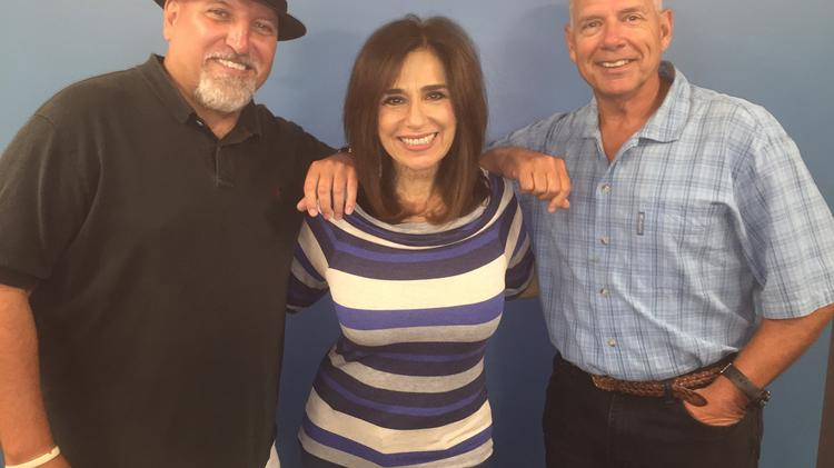 "WOGL 98.1's ""Breakfast Club"" morning team of (from left) Frank Lewis, Valerie Knight and Bill Zimpfer will be moving to the suburbs with the rest of the highly rated station's programming personnel."