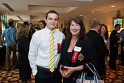 Chad Cleary and Janet Shope of Comcast Business Services.