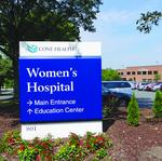Cone Health shifts plans for $135M Women's Hospital