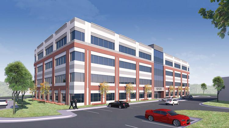 St. John Properties is developing a 100,000-square-foot office building in Howard County that will be a central component of the Annapolis Junction Town Center development.