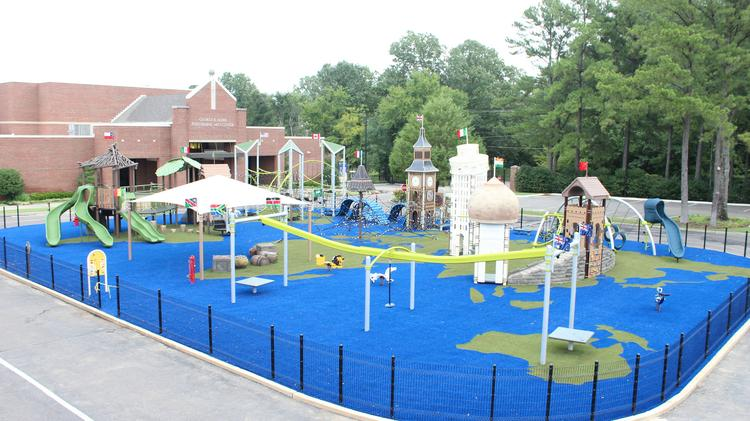 with its new outdoor discovery center for the lower school lausanne