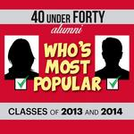 40 Under 40 Most Popular: Vote for the classes of 2013, 2014