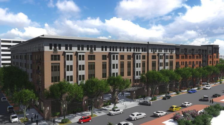 hospital demolition to make way for luxury apartments on south