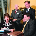 <strong>Cleve</strong>, Linda <strong>Folger</strong> sell their stake in Trisure insurance outfit