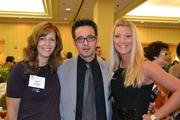 From left, Lisa Nicholls of Tira Strategies, Joel Barajas of Il Fornaio and Lindsay Mensch of Team Velocity Marketing.