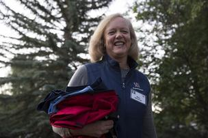 Meg Whitman took the helm of HP in September 2011, after a failed bid to run for governor of California and following her time leading eBay.