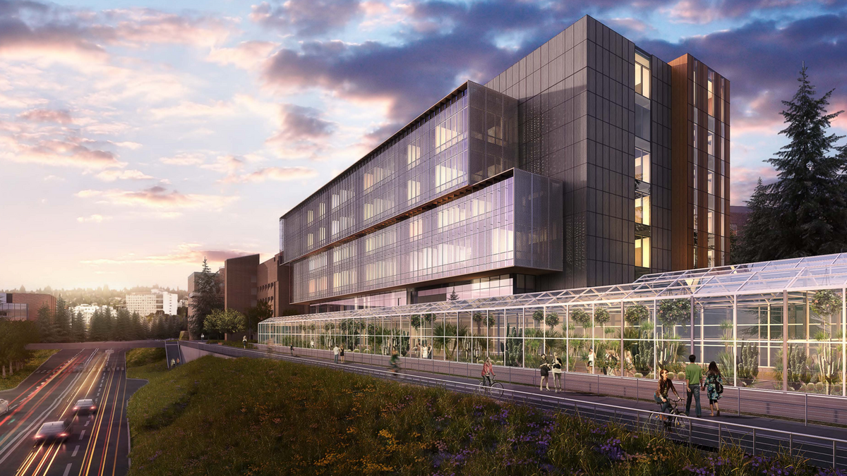 Uw Has So Many Biology Students It Has To Build A New