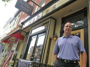 Kevin Butler wants to revive Hammerjacks, the famed Baltimore night club, near the Horseshoe Casino that's under construction. He is standing in front of Nobles Bar and Grill, the site of Hammerjacks' first location downtown.