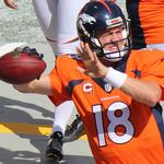 Papa John's is standing behind <strong>Manning</strong>