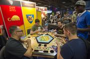 SXSW gamers  Attendees play Catan, a board game made by Mafair Games.com.
