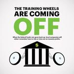 When the Fed takes the training wheels off the economy, that's when the race begins
