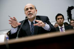 Bernanke signaled the Fed is prepared to keep buying bonds at its present pace as he dismissed concerns that record easing risks sparking inflation or fueling asset price bubbles.