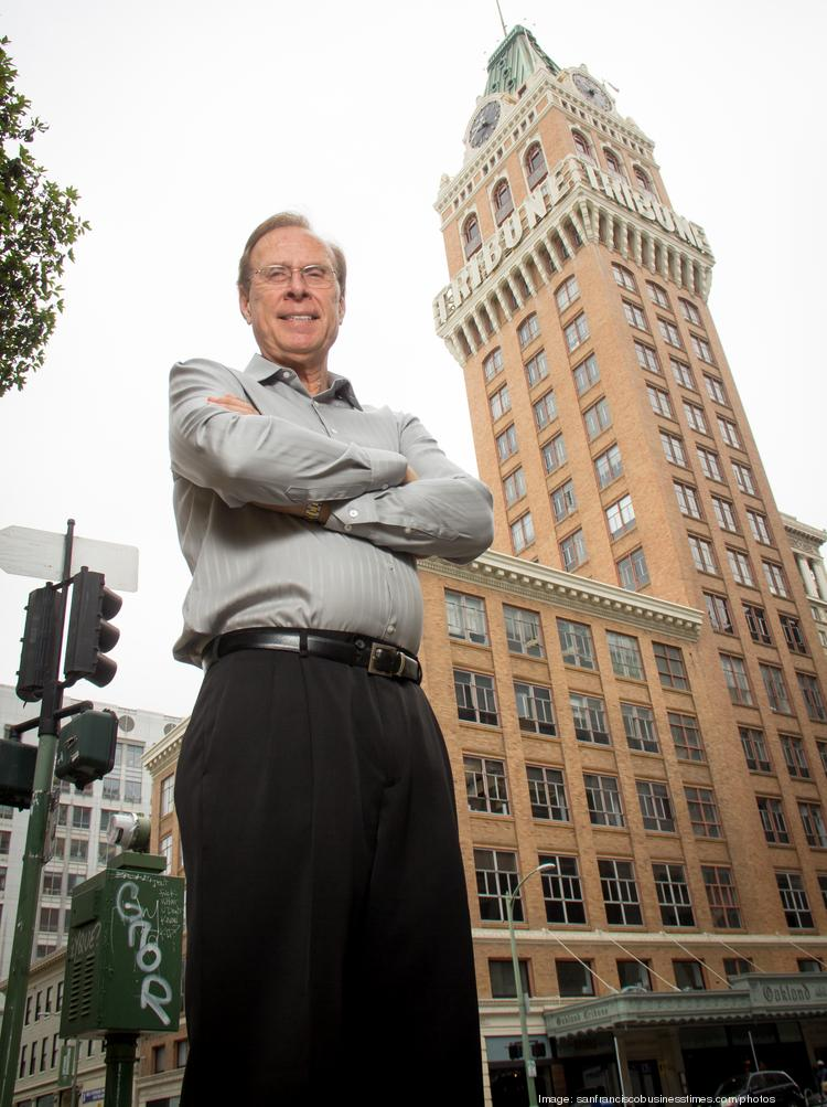 Tom Henderson, owner of the Tribune Building, where CallSocket is located, is being sued by partner Allan Young.