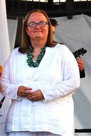 Beth Bauer, executive director of Gathering on the Green, which ranks 22nd