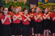 A young Milwaukee Children's Choir group, in performance at Betty Brinn Children's Museum. Milwaukee Children's Choir ranks 24th.
