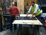 Behind the scenes with 2 2015 PDX Adult Soapbox Derby car builders