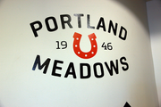Portland Meadows' new logo and branding effort was unveiled in 2012.