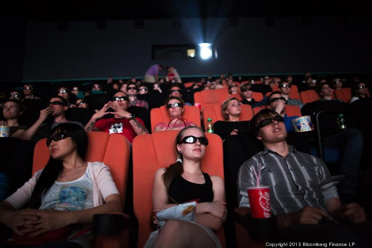 Nothing is sacred: 35 percent of Americans admit they use their smartphones at movie theaters.