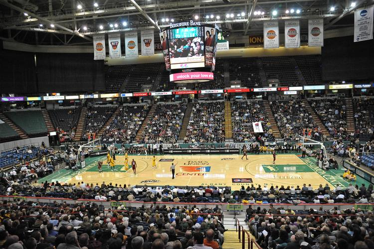 The arena has hosted NCAA tournaments in the past. NCAA officials have told Albany officials that changes need to be made to win back basketball and wrestling tournaments.
