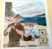 Ad for Leinenkugel's Original that appears in the pages of the Shepherd Express