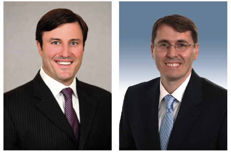 Craig Couch, left, and Greg Gaynor are representative of a trend in Austin commercial real estate that has seen brokers leave large firms to be more selective of their clients.