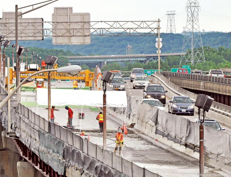 The Capital Region's latest road project is tying up the commute on Interstate 787, one of the key access points to downtown Albany.