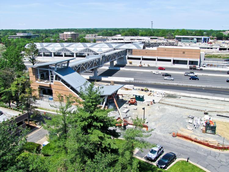The Wiehle-Reston East station will round out the Silver Line's first phase.