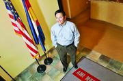 No. 5: AMI Mechanical Inc., Denver -- $36,539,736 revenue in 2012.   (Pictured: Manuel Gonzales, CEO)