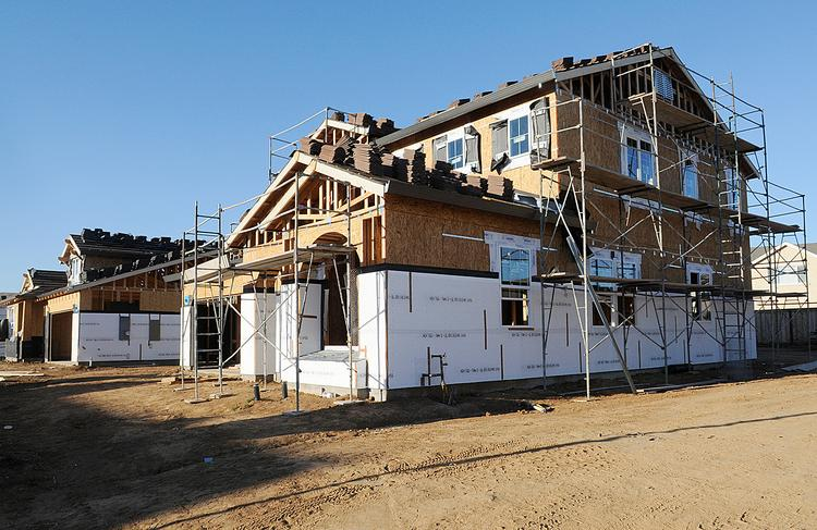 The Sacramento region is seeing a fair amount of new homes built, but isn't on track to beat last year's numbers.