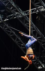 Quidam is the latest performance by Cirque du Soleil, which will be performing seven shows at the PNC Arena from July 10-14.