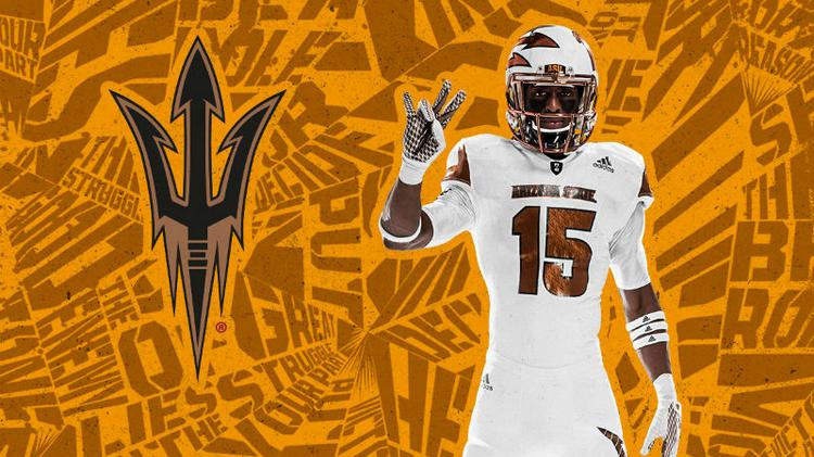 Adidas unveils alternate uniform for Arizona State (Photos ... 36e9df606