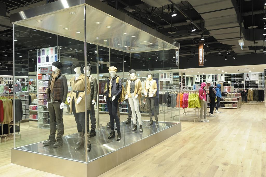 26020b8f5 An interior shot of a UNIQLO store in Asia. The Japanese retailer is  expanding in