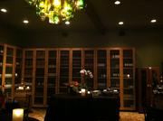 """Inside """"The Cellar,"""" one of several private rooms the Tasting Room provides for guests."""