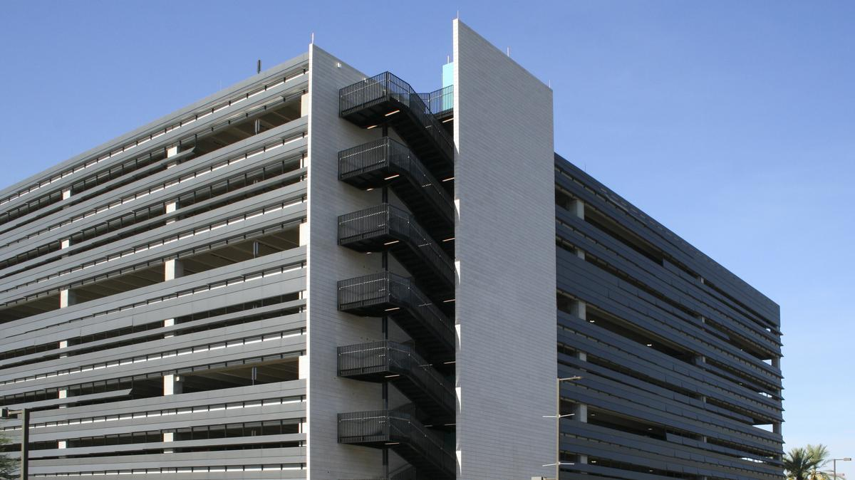 Parking Garage Opens For Downtown Cancer Center Phoenix Business