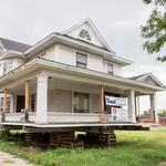 Relocation of historic home clears way for new QuikTrip near Broadway, Murdock