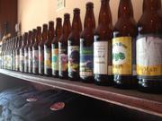 A full array of beer brands designed by the customers of Copper Kettle.
