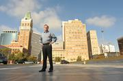 The clock is running: For Henderson's foreign investors to qualify forpermanent U.S. residency, he needs to fill his buildings with 2,000 jobs in the next two years. Plans call for 300 jobs at a call center in Oakland's Tribune Tower.
