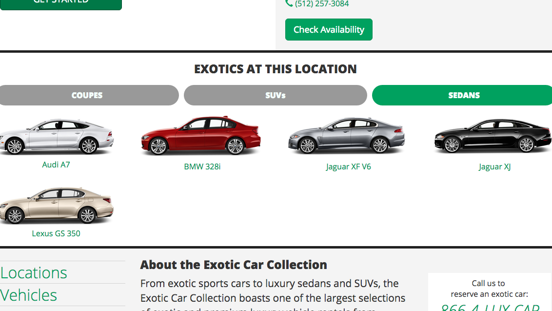 Enterprise Car Rental Charlotte Nc: Enterprise's Exotic Car Rental Comes To Austin Area