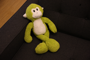 Survey Monkey, U.S. Bancorp Tower, Portland SurveyMonkey's main greeter welcomes visitors to its offices in downtown. http://www.bizjournals.com/portland/blog/real-estate-daily/2013/03/cool-spaces-survey-monkey-takes-its.html